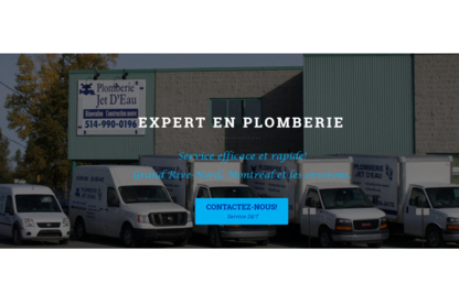 Plomberie Jet D'Eau Inc - Plumbers & Plumbing Contractors - 450-474-5475