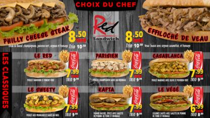 Sandwich Red Steak - Middle Eastern Restaurants - 819-777-8777