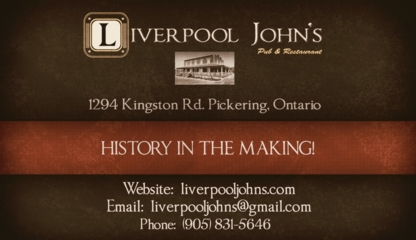 Liverpool Johns Pub & Restaurant - Restaurants