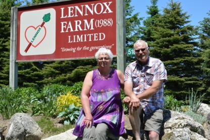 Lennox Farm 1988 Ltd - Producteurs et distributeurs de fruits et légumes - 519-925-6444