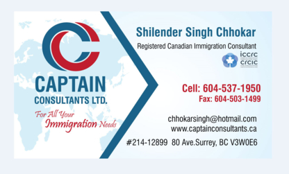Captain Consultants Ltd and Mobile-MBO - Business Management Consultants - 604-537-1950