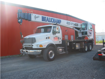 Grues Beauchamp - Service et location de grues