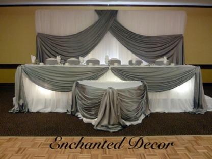 Enchanted Decor - Wedding Planners & Wedding Planning Supplies - 519-240-5266