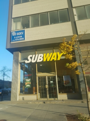 Subway - Restaurants - 514-858-7676