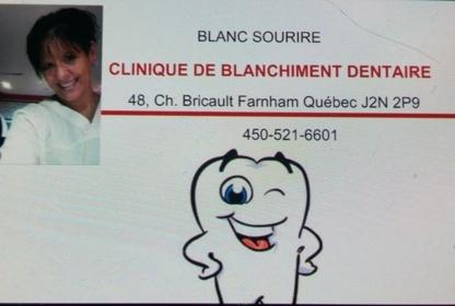 Clinique de Blanchiment Dentaire BLANC Sourire - Traitement de blanchiment des dents - 450-521-6601