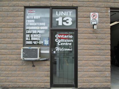Ontario Collision Center Inc - Réparation de carrosserie et peinture automobile