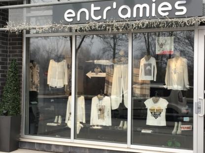 Boutique Entr'Amies - Magasins de vêtements pour femmes - 450-906-3578