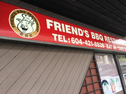 Friend's BBQ Restaurant - Restaurants - 604-421-8838