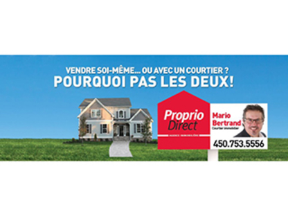 Mario Bertrand Courtier Immobilier Agréé - Real Estate Agents & Brokers - 450-753-5556