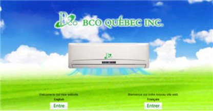 BCO Québec Inc - Entrepreneurs en climatisation - 514-657-4658