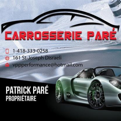 Carrosserie Paré - Réparation de carrosserie et peinture automobile - 418-333-0258