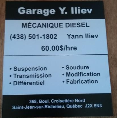 Garage Yann Iliev - Truck Repair & Service