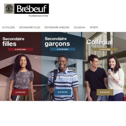 Collège Jean-de-Brébeuf - Écoles primaires et secondaires - 514-342-1320