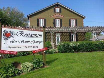 Restaurant Le Saint-Georges - Restaurants - 450-291-4141