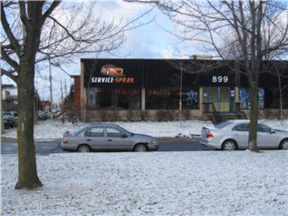 Service Spray Inc - Grossistes et fabricants de peinture