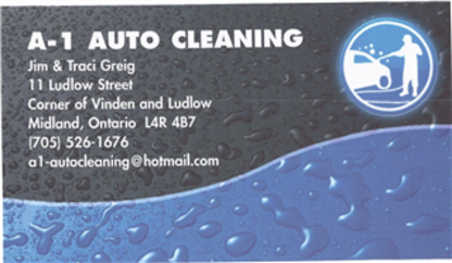 A-1 Auto Cleaning - Car Washes - 705-526-1676