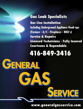 General Gas Services - Gas Companies - 416-849-3416