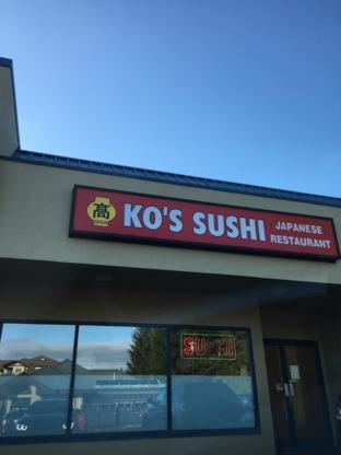 Ko's Sushi Japanese Restaurant - Sushi & Japanese Restaurants - 604-539-9511