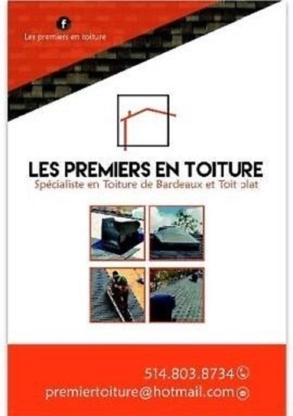 Les premiers en toiture - Couvreurs - 514-803-8734