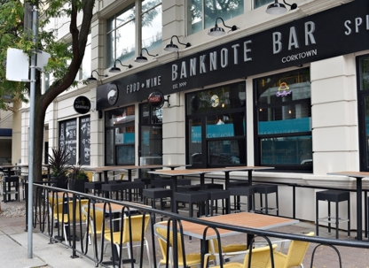 Banknote Bar Corktown - Restaurants - 416-367-7327
