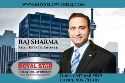RAJ SHARMA - Brampton Real Estate - Real Estate Agents & Brokers - 647-688-5829