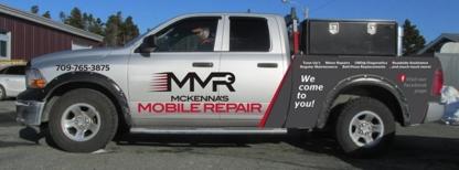 McKenna's Mobile Repair - Réparation et entretien d'auto