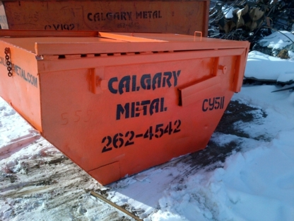 Calgary Metal Recycling Inc - Recycling Services - 403-262-4542