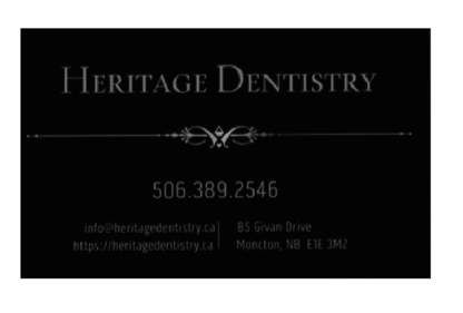 Heritage Dentistry - Dentists - 506-389-2546