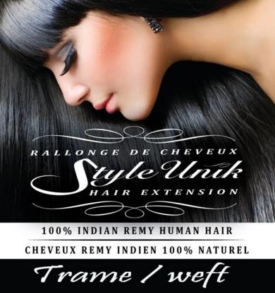 Rallonges de cheveux style unik - Hair Extensions - 514-442-1791