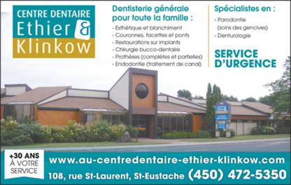 Centre Dentaire Ethier & Klinkow - Traitement de blanchiment des dents - 450-472-5350