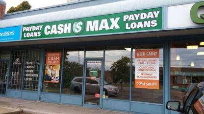 CashMax - Loans - 905-432-8087