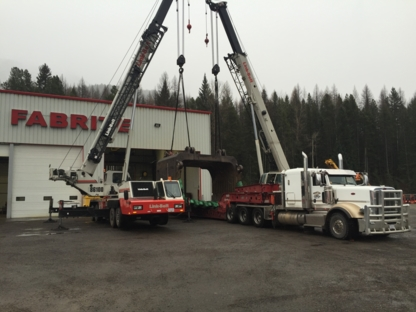 Fab-Rite Services Ltd - Crane Rental & Service