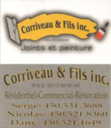 Corriveau Et Fils Inc - Rénovations - 450-375-0316