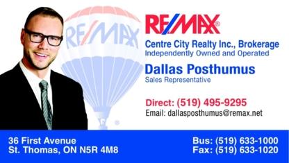 View Dallas Posthumus Realtor Re/Max's St Thomas profile