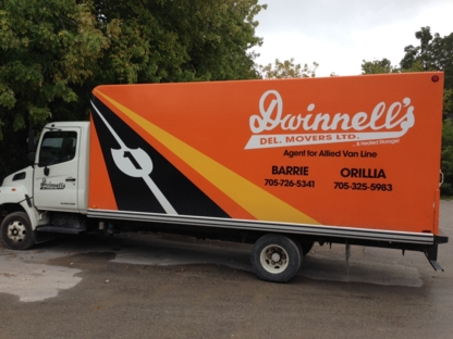 Dwinnell's Delivery & Movers Ltd - Moving Services & Storage Facilities - 705-726-5341