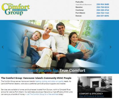 View The Comfort Group's Qualicum Beach profile
