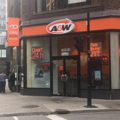 A&W - Restaurants - 514-849-6886