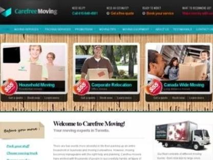 Movers Toronto - Carefree Moving Company Toronto - Moving Services & Storage Facilities - 416-848-4561