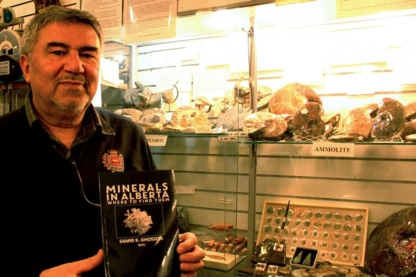 Ghossein Rocks & Fossils - Museums - 780-540-3712