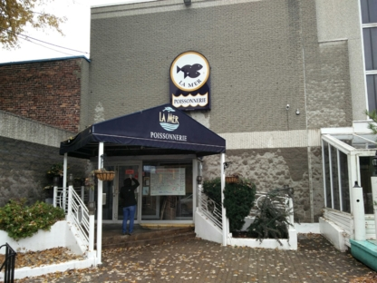 Poissonnerie La Mer - Fish & Seafood Stores - 514-522-3003