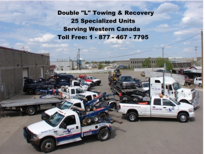 Double L Towing - Vehicle Towing - 780-467-7795