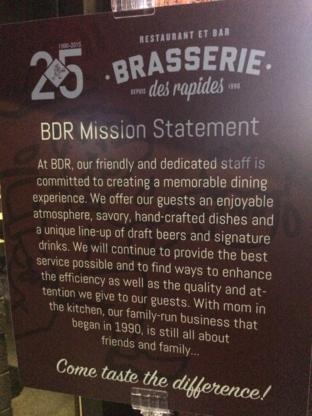 Brasserie Des Rapides - Restaurants - 514-595-3197
