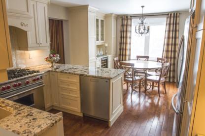 Aurora Kitchens & Counters - Kitchen Cabinets - 905-841-3393