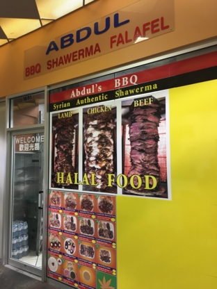 Abdul BBQ & Shawarma - Middle Eastern Restaurants