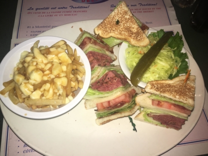 Reuben's Restaurant Delicatessen - Restaurants - 514-861-1255