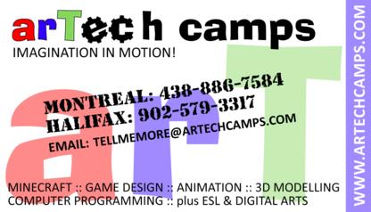 Artech Camps Canada - Camps - 438-886-7584