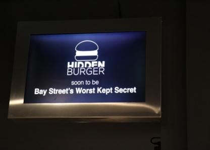 Hidden Burger - Restaurants - 416-362-7585