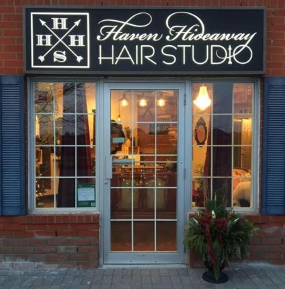 Haven Hideaway Hair Studio - Salons de coiffure et de beauté - 905-235-5511