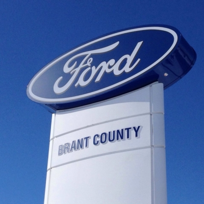 Brant County Ford Sales Ltd - New Car Dealers - 519-756-6191