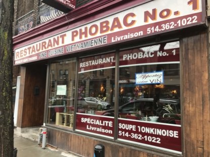 Pho Bac No1 - Restaurants - 514-362-1022